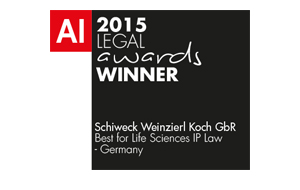 Acquisition International Legal Award 2015